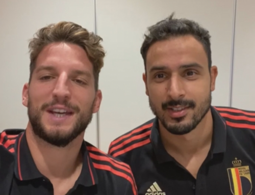 Mertens en Chadli motiveren ASV Dronten in video